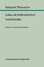 Lukas als hellenistischer Schriftsteller;…