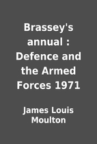 Brassey's annual : Defence and the Armed…