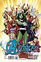 A-Force, Vol. 1 #1 (2015) by G. Willow…