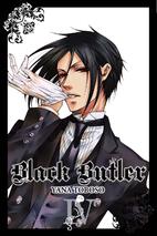 Black Butler, Volume 4 by Yana Toboso