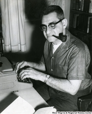 Author photo. John Anthony Caruso [credit: West Virginia & Regional History Center]