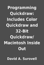 Programming Quickdraw: Includes Color…