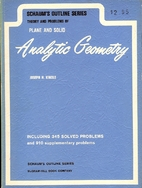Analytic Geometry (Schaum's Outline) by…