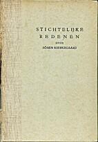 Stichtelijke redenen by Søren Kierkegaard