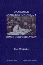Canadian immigration policy since…