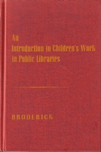 An Introduction to Children's Work in Public…