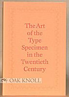 Art of the Type Specimen in the Twentieth…