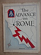 Advance on Rome of the Fifth Army Under…