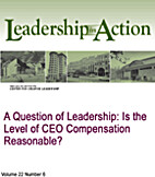 A Question of Leadership: Is the Level of…