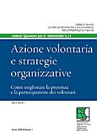 Azione volontaria e strategie organizzative:…