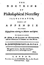 The doctrine of philosophical necessity…