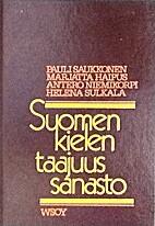 Suomen kielen taajuussanasto = Frequency…