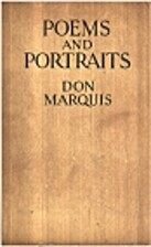 Poems and Portraits by Don Marquis