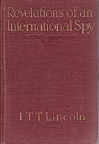 Revelations of an international spy by…