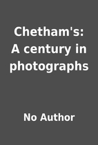 Chetham's: A century in photographs by…