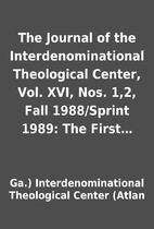 The Journal of the Interdenominational…