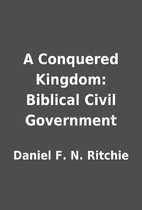 A Conquered Kingdom: Biblical Civil…