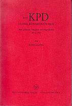 Die KPD in der Bundesrepublik Deutschland by…