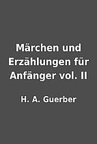 Märchen und Erzählungen für Anfänger…