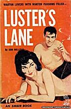 Luster's Lane by Victor J. Banis