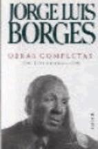 Obras completas by Jorge Luis Borges