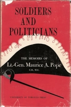 Soldiers & Politician the Memoirs of LT by…