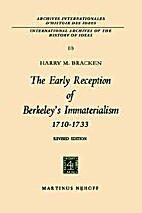 The Early Reception Of Berkeley's…