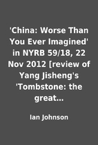 'China: Worse Than You Ever Imagined' in…