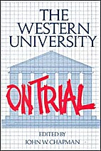 The Western University on Trial by John…