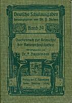 Quellenbuch zur Geschichte der…