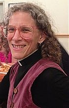 Author photo. Mtr. Maggie Helwig Priest-in-charge The Church of Saint Stephen-in-the-Fields (2013)