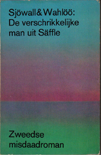 The Abominable Man by Maj Sjöwall