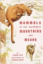 Mammals of the Southwest mountains and mesas…