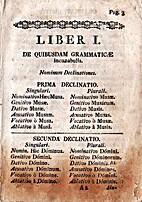 [De institutione grammaticae: libri duo] by…