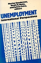Unemployment: International Perspectives by…