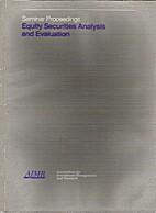 Seminar Proceedings: Equity Securities…