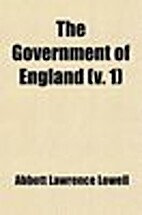 The government of England by A. Lawrence…