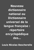 Nouveau dictionnaire national ou…