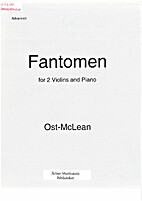 Fantomen for 2 Violins and Piano by Ost;…