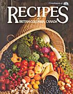 Recipes of British Columbia, Canada