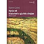 Hyrje ne historine e gjuhes shqipe…