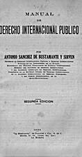 Manual de derecho internacional público by…