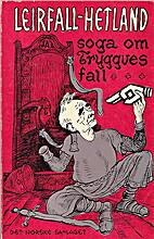 Soga om Tryggves fall by Jon Leirfall