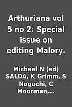 Arthuriana vol 5 no 2: Special issue on…