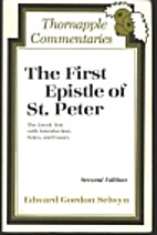 The First Epistle of St. Peter by Edward…