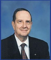 Author photo. Richard L. Bernard [source: page 14, In the Forefront of Foreign Missile and Space Intelligence, 2012]