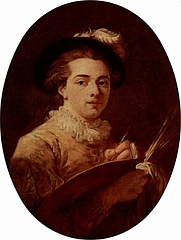 Author photo. Self-portrait, circa 1760-1770 (Yorck Project)