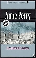 El equilibrio de la balanza by Anne Perry