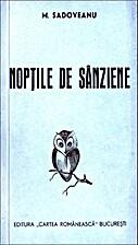 Noptile de sanziene by Mihail Sadoveanu