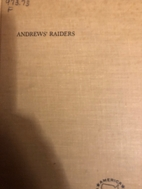 Andrews' raiders by Roberta Strauss…